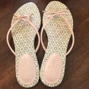 Kate Spade Pink Bow Sandals